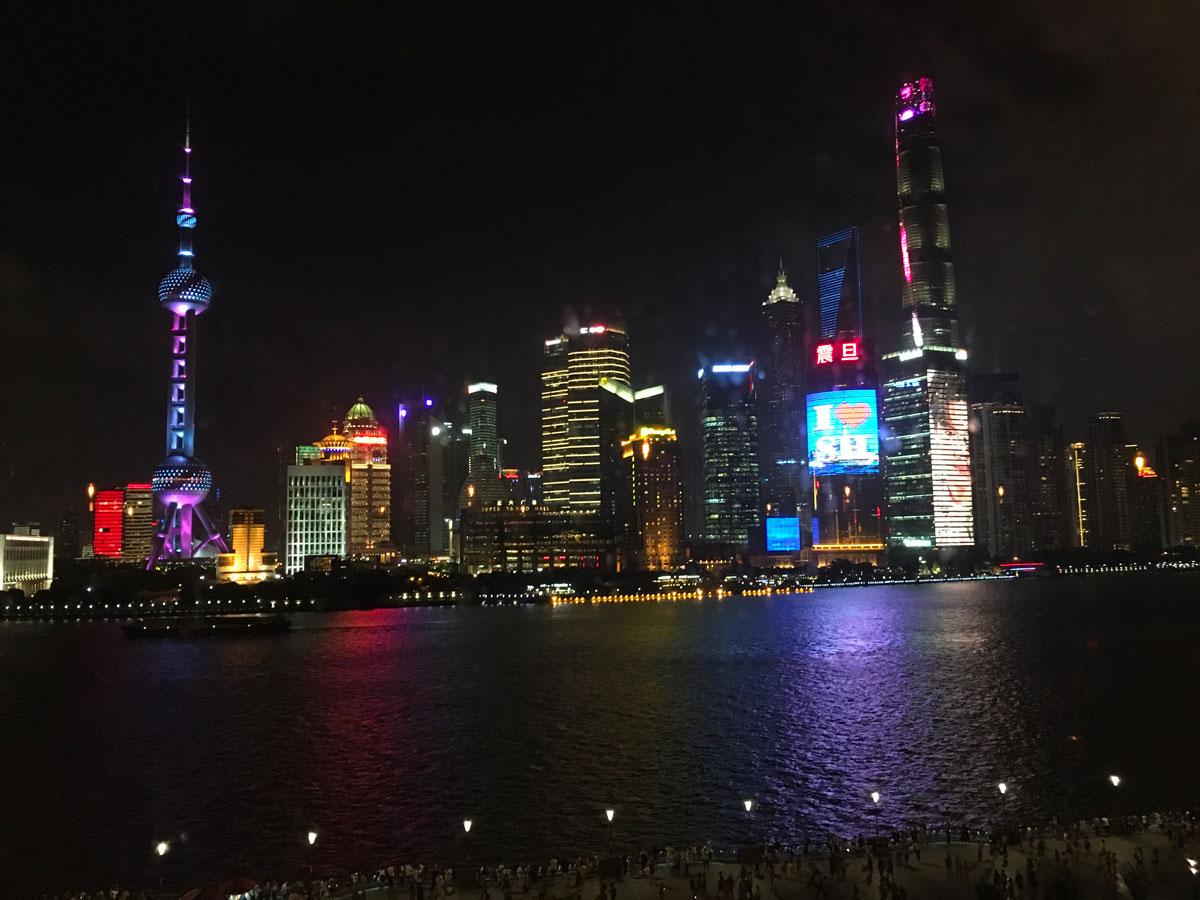 Légende Chine-Shanghai